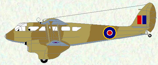 Dragon Raide as used by No 173 Squadron
