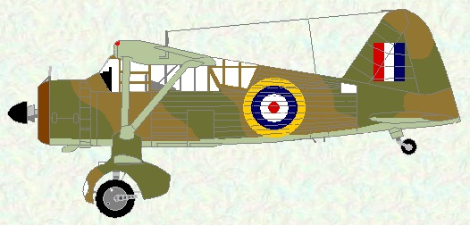 Lysander II as used by No 237 Squadron