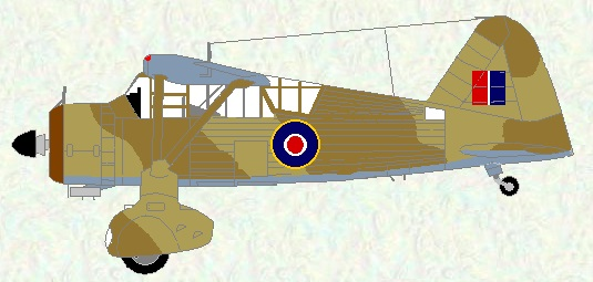 Lysander II as used by No 173 Squadron