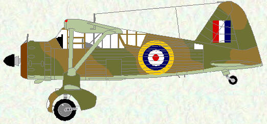 Lysander I as used by No 237 Squadron