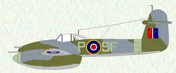 Whirlwind I of No 137 Squadron