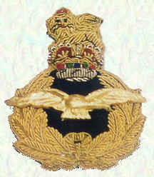 Officers' cap badge - Officers of Air Rank