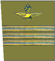 Lieutenant Colonel - Initial uniform design