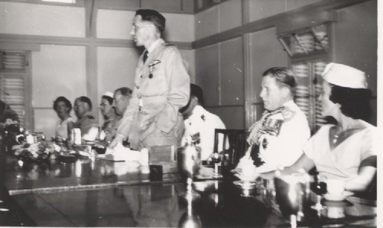 Dining In following the Presentation of No 13 Squadron Standard