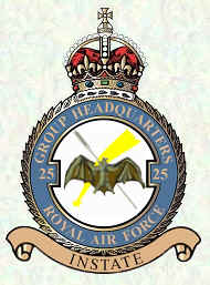 No 25 Group badge