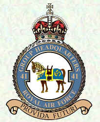No 41 Group Badge