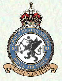 No 83 Group Badge