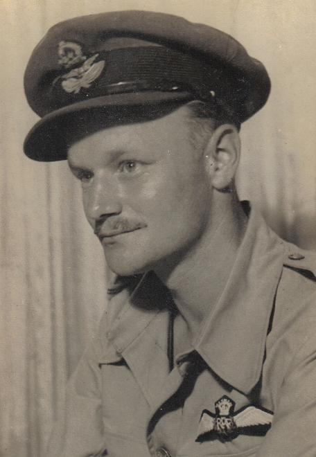 Picture of Flt Lt G eorge Hammond, No 145 Squadron